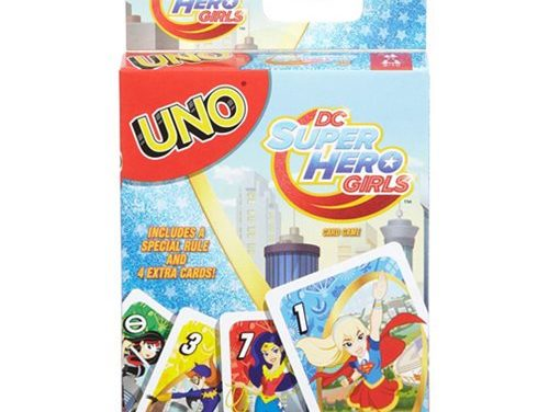 Uno DC Super Hero Girls Game