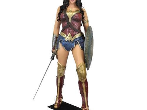 Wonder Woman Movie Life-Sized Foam Figure Replica