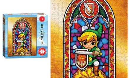 The Legend of Zelda Wind Waker #3 550-Piece Puzzle