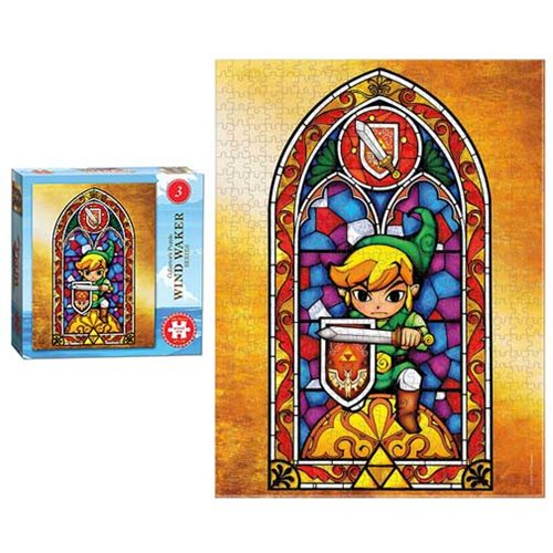 The Legend of Zelda Wind Waker #3 550-Piece Puzzle
