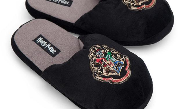 Harry Potter Hogwarts Slippers