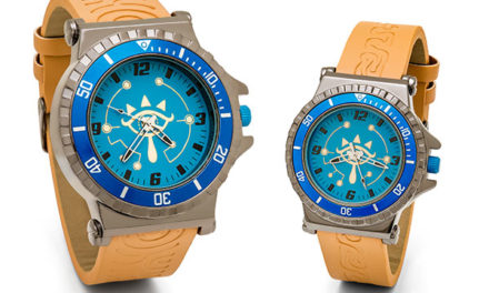 Zelda: Breath of the Wild Sheikah Eye Watch – Exclusive