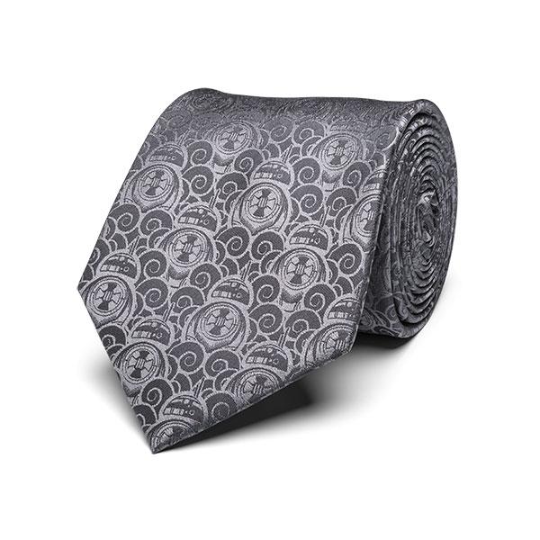 BB-8 Swirls Tie