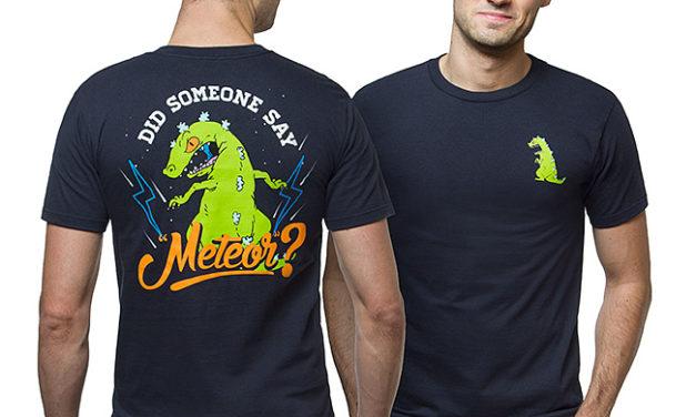 Rugrats Reptar Meteor T-Shirt