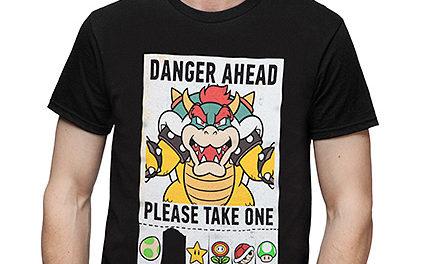 Super Mario Danger Ahead T-Shirt