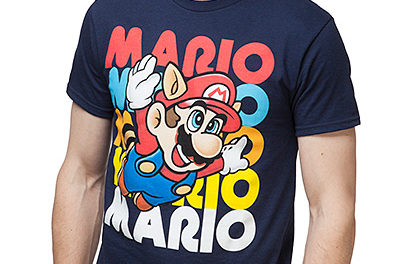 Super Mario Flying Free T-Shirt