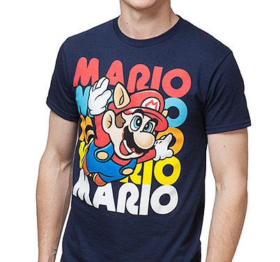 Super Mario Flying Free T-Shirt