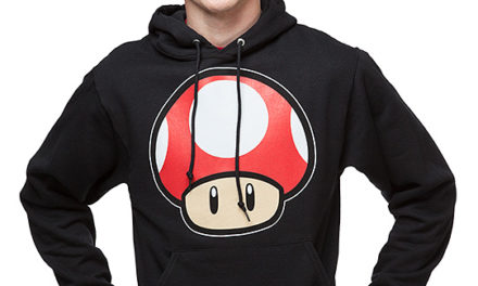 Super Mario Power-Up Mushroom Pull-Over Hoodie