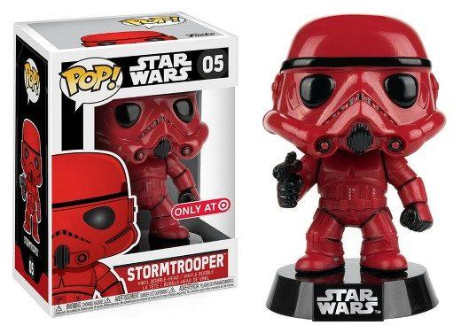 Funko POP Star Wars: Red Stormtrooper Mini Figure
