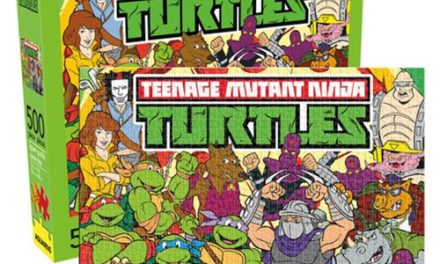 Teenage Mutant Ninja Turtles Cast 500 Piece Puzzle