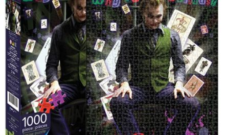 Batman The Dark Knight Joker 1,000-Piece Puzzle