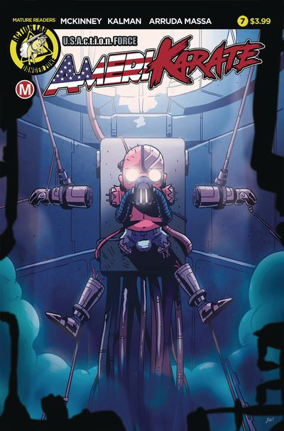 Amerikarate #7 (Cover A – Roth)