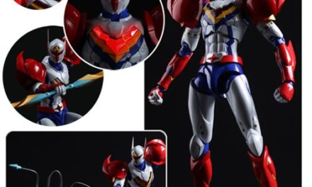 Infini-T Force Tekkaman Fighter Gear Version Tatsunoko Heroes Fighting Gear Action Figure – Free Shipping