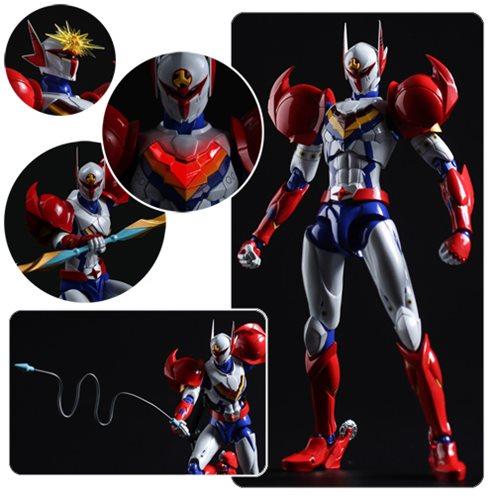 Infini-T Force Tekkaman Fighter Gear Version Tatsunoko Heroes Fighting Gear Action Figure – Free Shipping