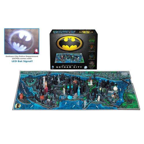 Batman Gotham City 4D Cityscape Puzzle – Free Shipping