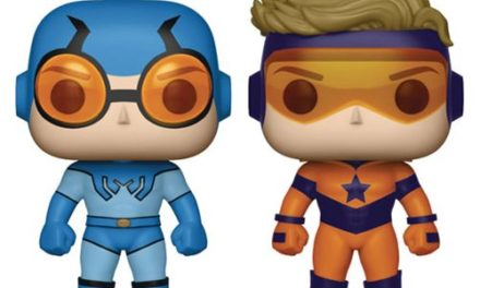 DC Comics Booster Gold and Blue Beetle Pop! Vinyl Figure 2-Pack – Previews Exclusive