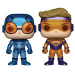 DC Comics Booster Gold and Blue Beetle Metallic Version Pop! Vinyl Figure 2-Pack – Previews Exclusive