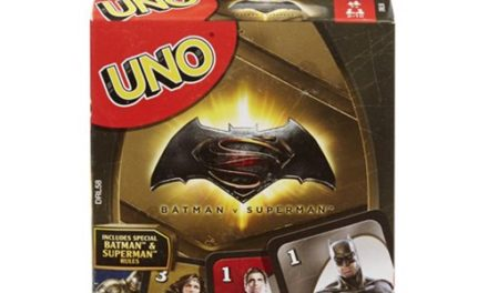 Batman v Superman Uno Game