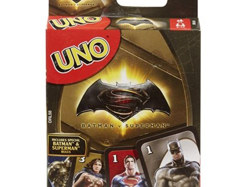 Batman v Superman Uno Game