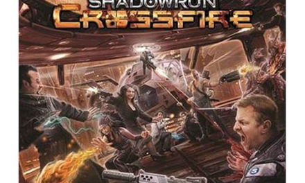 Shadowrun Crossfire Base Game Board Game