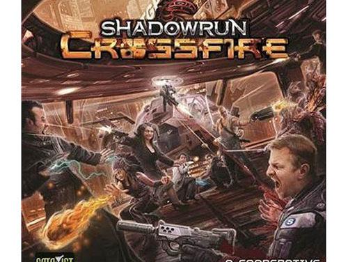 Shadowrun Crossfire Base Game Board Game
