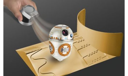 Star Wars BB-8 Force Spinners Magnetic Lab