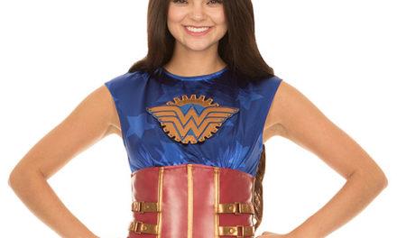 Wonder Woman Steampunk Corset Top