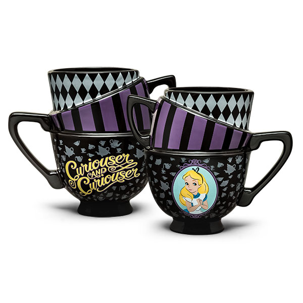 Alice in Wonderland Stacked Mug