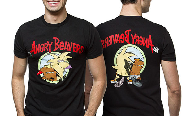 Angry Beavers Front and Back T-Shirt