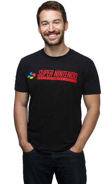 Super Nintendo Logo T-Shirt
