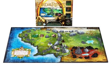 Lord of the Ring Middle Earth 4D Cityscape Puzzle – Free Shipping
