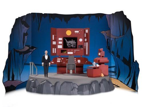 Batman The Animated Series Batcave with Alfred Playset – Free Shipping