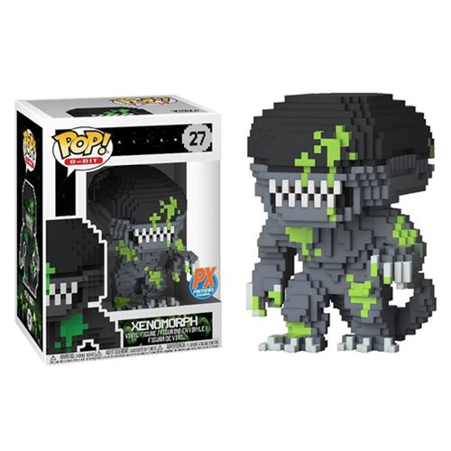 Alien Xenomorph Blood Splattered 8-Bit Pop! Vinyl Figure – Previews Exclusive