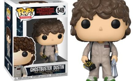 Stranger Things Ghostbusters Dustin Pop! Vinyl Figure #549