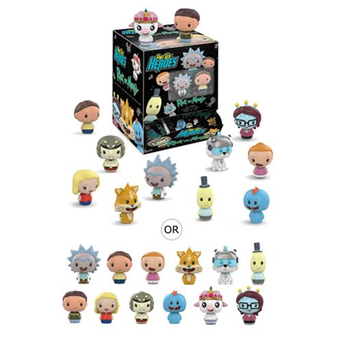 Rick and Morty Pint Size Heroes Mini-Figure Display Case – Free Shipping