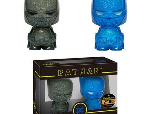 Batman Blue and Grey Hikari XS Vinyl Figure 2-Pack