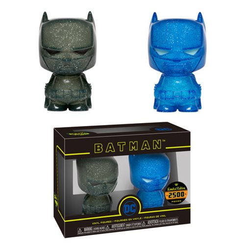 Batman Blue and Grey Hikari XS Vinyl Figure 2-Pack