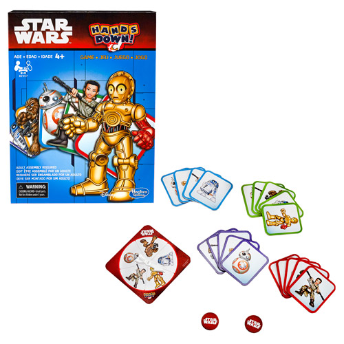 Star Wars: The Force Awakens Hands Down Game – Free Shipping