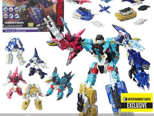 Transformers Generations Platinum Edition Combiner Wars Liokaiser – Entertainment Earth Exclusive – Free Shipping