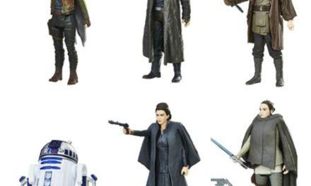 Star Wars: The Last Jedi Orange 3 3/4-Inch Action Figures Wave 2 Set