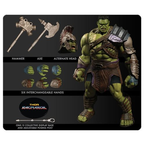 Thor Ragnarok Gladiator Hulk One:12 Collective Action Figure – Free Shipping