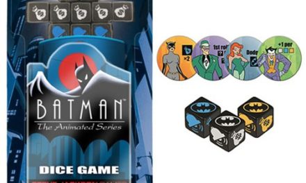 Batman: The Animated Series Dice Game – Free Shipping