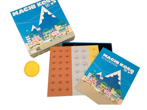 Machi Koro Board Game