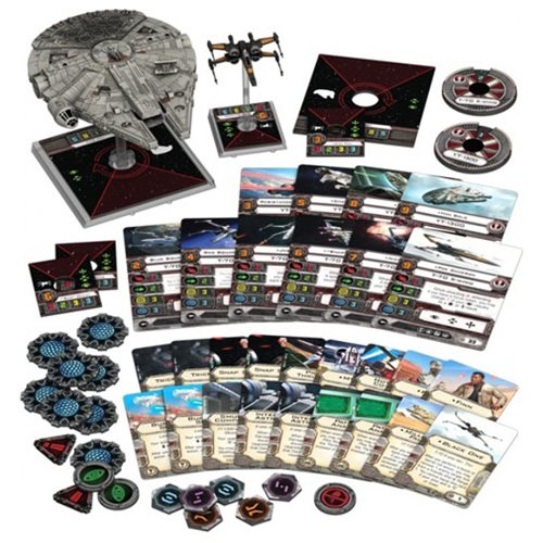 Star Wars: X-Wing Game Heroes of the Resistance Expansion Pack – Free Shipping