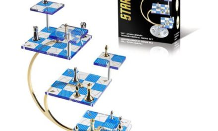 Star Trek 50th Anniversary Tridimensional Chess Set – Free Shipping