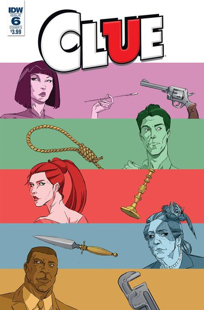 Clue #6 (Cover A – Schoening)