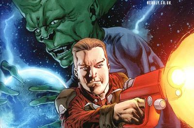 Dan Dare #2 (Cover A – Perkins)