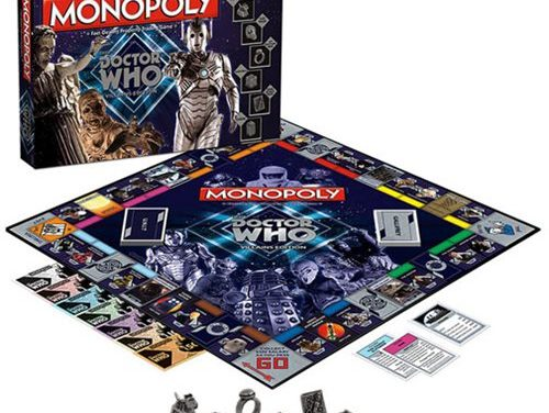 Doctor Who Villain Edition Monopoly Board Game – Free Shipping