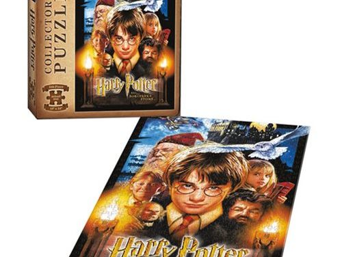 Harry Potter and the Sorcerer's Stone 550-Piece Puzzle – Free Shipping