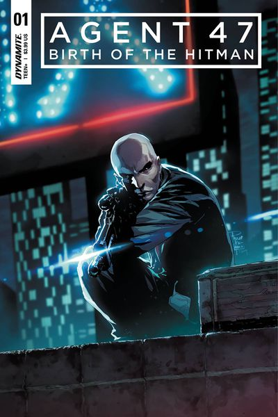 Agent 47 Birth Of Hitman #1 (Cover A – Tan)